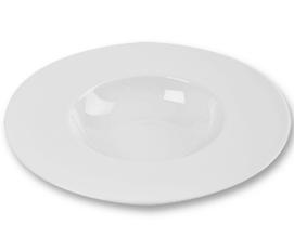 Location vaisselle : assiette bol blanche - Ambassade Receptions