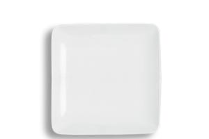 Location vaisselle : assiette plate Square 24cm - Ambassade Receptions
