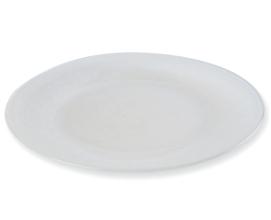 Assiette de Présentation en Verre Blanche Ø33cm