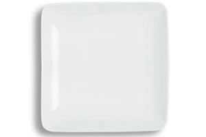 Location vaisselle : assiettes de presentation Square - Ambassade Receptions