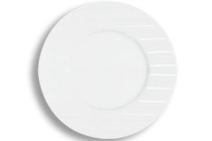 Location vaisselle : assiette de presentation Saturne - Ambassade Receptions