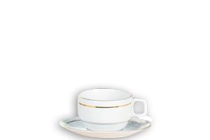 Complet Thé (tasse,  sous tasse, cuillère à café) FO