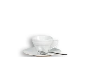 Complet Thé (tasse, sous tasse, cuillére à  Café) STNE