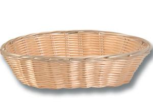 Location vaisselle : corbeille a pain en osier 22cm- Ambassade Receptions