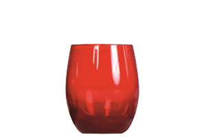 Location vaisselle : gobelet rouge 38cl Grenat - Ambassade Receptions