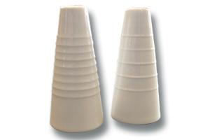 Location vaisselle : menagere cone en porcelaine - Ambassade Receptions