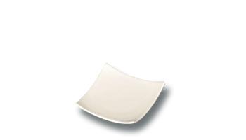 Location vaisselle : miniature carree plate - Ambassade Receptions