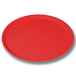 Location vaisselle : plateau antiderapant limonadier rouge - Ambassade Receptions