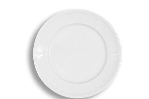 Location vaisselle : Assiettes plate 26 Rohan - Ambassade Receptions
