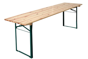 Table Kermesse 200x60cm