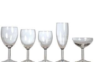 Location vaisselle : verres Bistrot - Ambassade Receptions