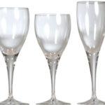 Location vaisselle : verres Tulipe- Ambassade Receptions