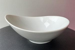 Location Vaisselle : Assiette creuse G - Ambassade Receptions