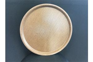 Location vaisselle : plateau limonadier marron 39 cm - Ambassade Receptions