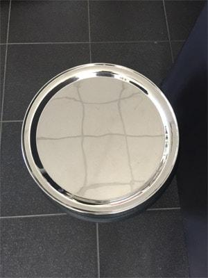 Location vaisselle : plateau Limonadier 40cm inox - Ambassade Receptions