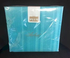 Serviette Intissée 40x40cm Turquoise