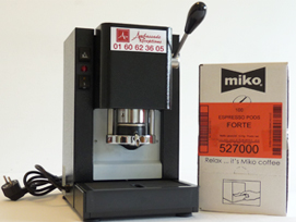 Machine à Café – Dosette Miko