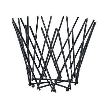 Corbeille Noire 25 x 20cm
